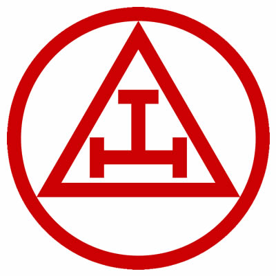 The Triple Tau. (Grand Emblem of Royal Arch Masonry)